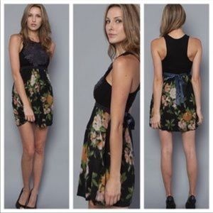 Free People | Dreamy Floral Patchwork Dress